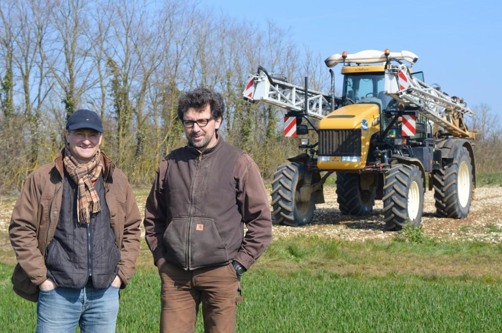 Jean-Hilaire MENIEURS RENAUDAT et son conseiller technique